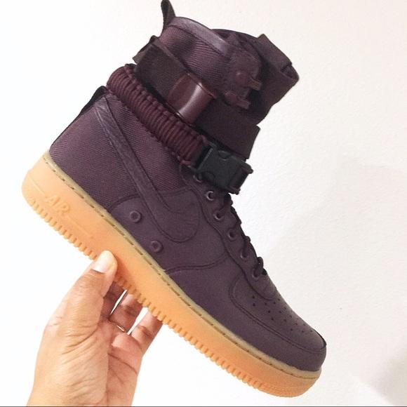 on sale a3db3 18418 Nike SF AF1 Deep Burgundy Mens Size 9.5